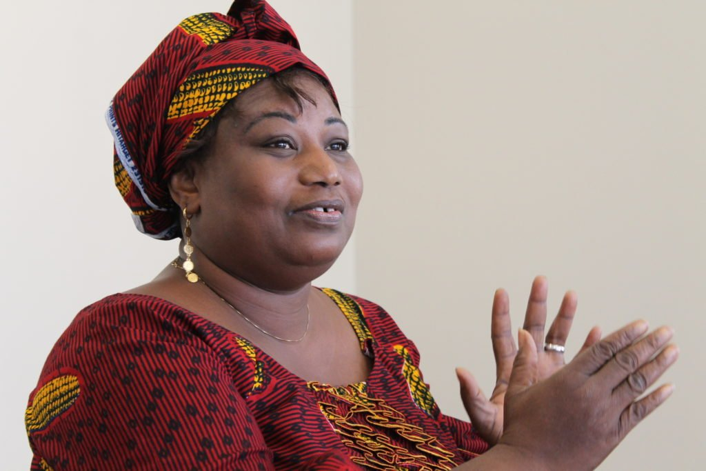 Photo of Mme Bintou Sissoko