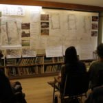 Aitan and Janice discuss preliminary design options for the Carpenter Street Field in Keene, NH.