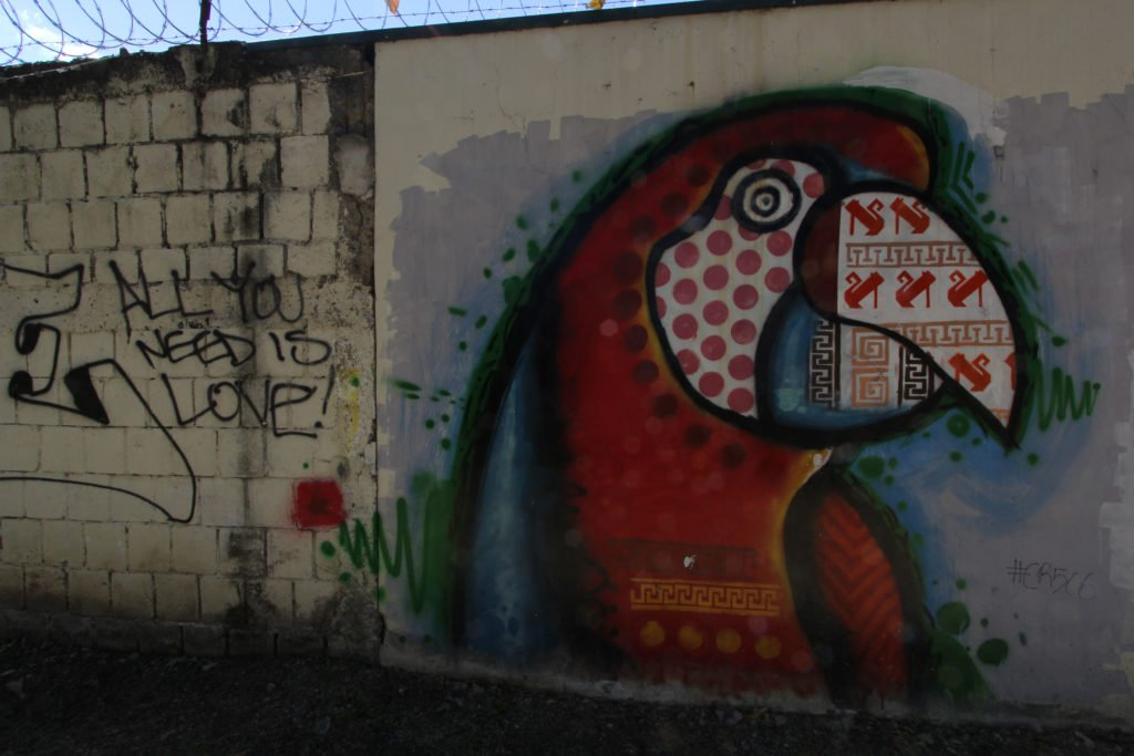 Urban art in San Jose CR, Pavas Neighborhood Park